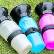 Kutyaitató kulacs (BPA mentes, hordozható)