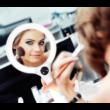 Kétoldalú kozmetikai tükör 2-féle megvilágítással