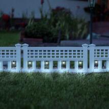 LED szolár virágágyás (4 db/szett)