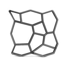 Kőmintás térkősablon