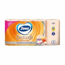 Zewa Deluxe 3 rétegű WC papír, barackos, 8 tekercs