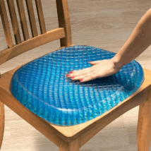 Méhsejtes zselé ülőpárna - ajándék mosható zipzáras huzattal!