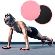 Fitness csúszókorong-szett (2 db/szett)