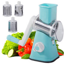 Kézi zöldségdaráló- és reszelő