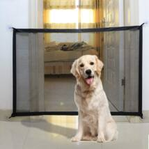 Biztonsági térelválasztó kutyaháló