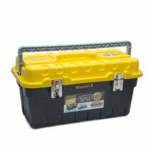 Handy Sárga-fekete műanyag szerszámosláda