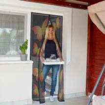 Szúnyogháló függöny ajtóra (pillangós)