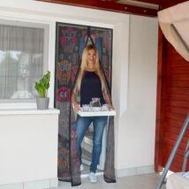 Szúnyogháló függöny ajtóra (baglyos)
