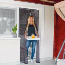 Szúnyogháló függöny ajtóra (love)