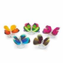 LED-es színváltó dísz pillangó