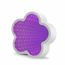 LED varázstükör -virág alakú