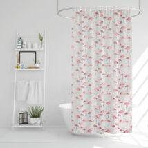 Zuhanyfüggöny-flamingós-180 x 200 cm
