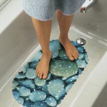 Fürdőszobai csúszásgátló (kőmintás, kék)