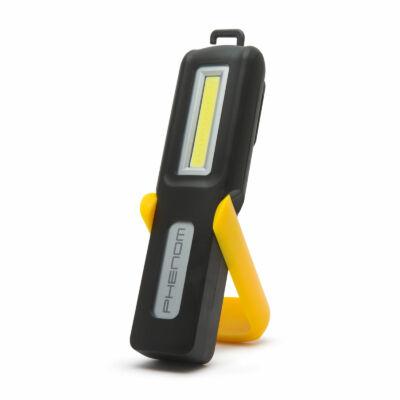 COB LED akkumulátoros szerelőlámpa