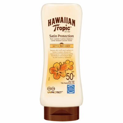 Hawaiian Tropic Satin Protection Napozótej 180 ml SPF 50
