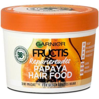 Fructis Hair Food Hajpakolás 390ml Papaya