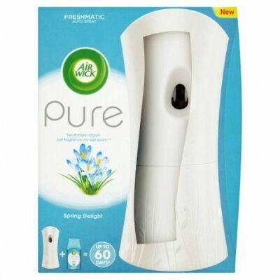 Air Wick Fresh Matic illatosító készülék + utántöltő 250ml Pure Tavaszi Szellő