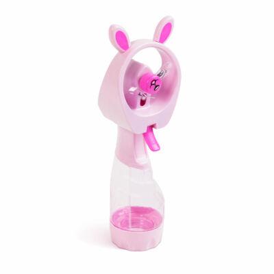 Párát permetező kézi ventilátor (rózsaszín)