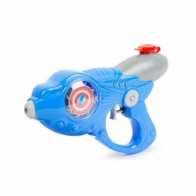 Kék, világító vízipisztoly