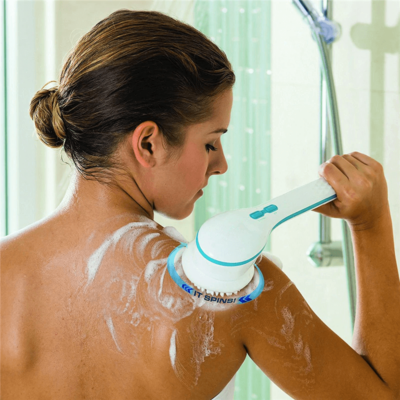 Masszázs zuhanyfej 5 cserélhető fejjel