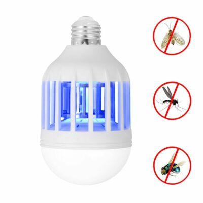 2 az 1-ben LED energiatakarékos izzó és rovarriasztó