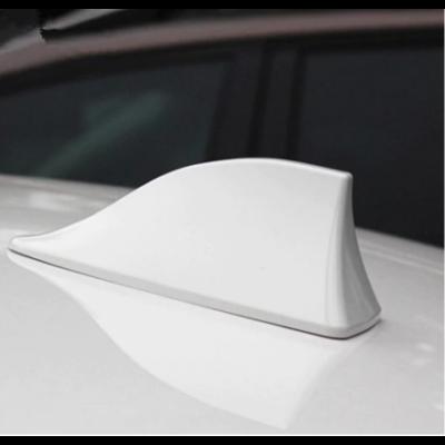 Autós FM antennaszár - fehér cápauszony
