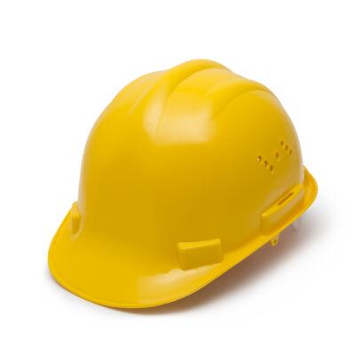 Munkavédelmi sisak (sárga)