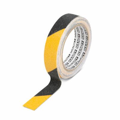 Handy Ragasztószalag - csúszásmentes - 5 m x 25 mm - sárga / fekete