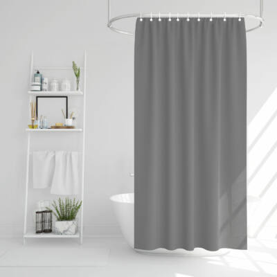 Zuhanyfüggöny-szürke-178 x 183 cm