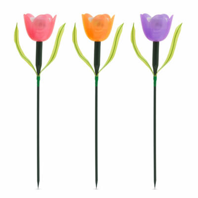 LED-es szolár tulipánlámpa