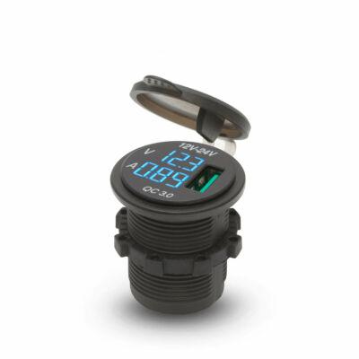 Autóba szerelhető USB aljzat