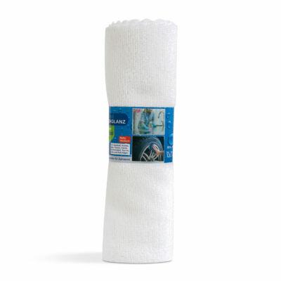 Mikroszálas univerzális törlőkendő (fehér)