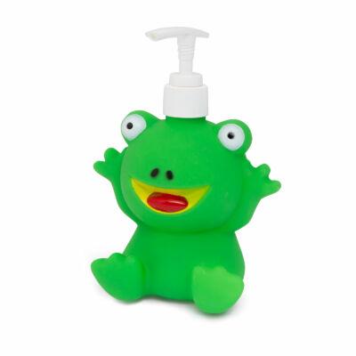Béka alakú szappanadagoló
