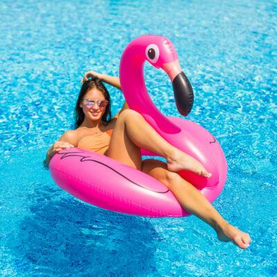 Flamingó úszógumi 120 cm