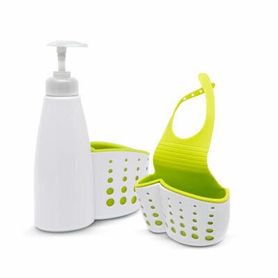 Fürdőszobai/konyhai eszköztartó