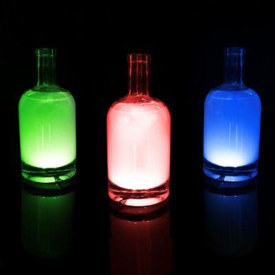 Üveg LED dekor- öntapadós - 4 db RGB LED -