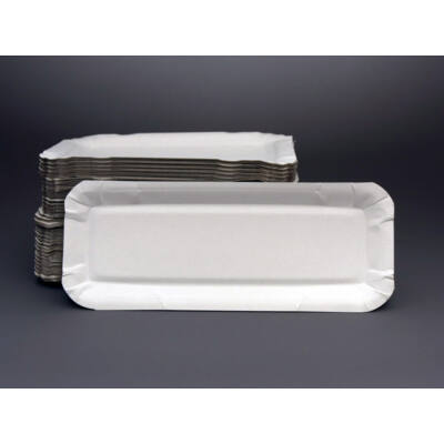 Papírtálca palacsintás (500 db/csomag, 100 x 250 mm)