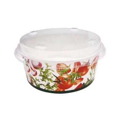 Papír salátás tál (800 ml, 50 db/csomag)